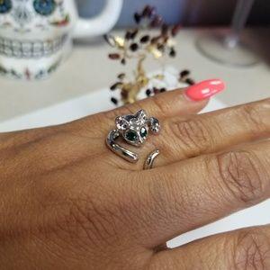 Fashion Jewelry Jewelry - SILVER CAT RING